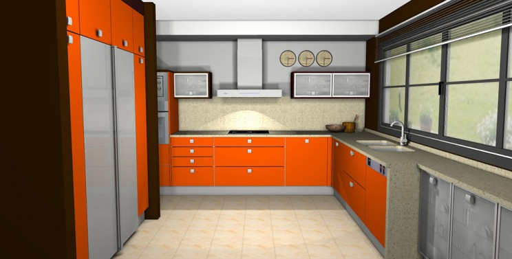 Cocina moderna pc20 cocinas proyectos mob 3 des for Diseno de interiores 3d data becker